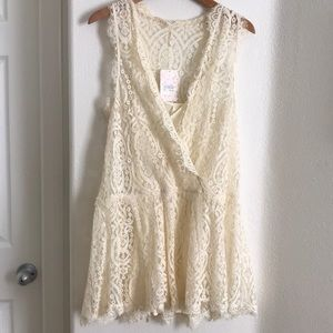 Authentic free people lace dress